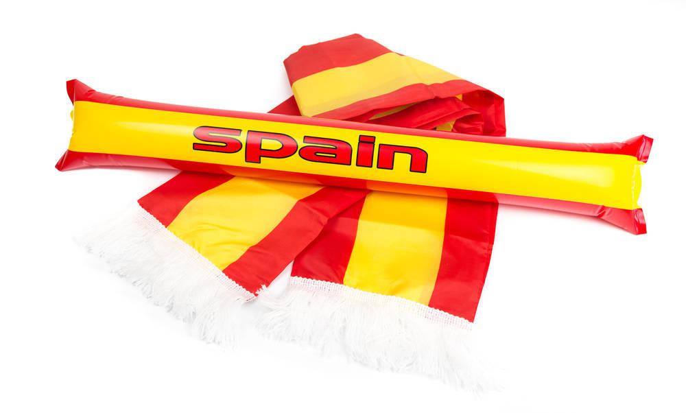 Bufandas de fútbol artesanas