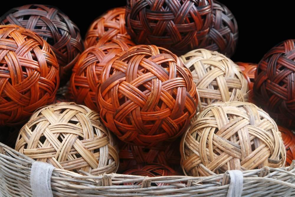 Cuando el arte, la moda y la cestería van de la mano