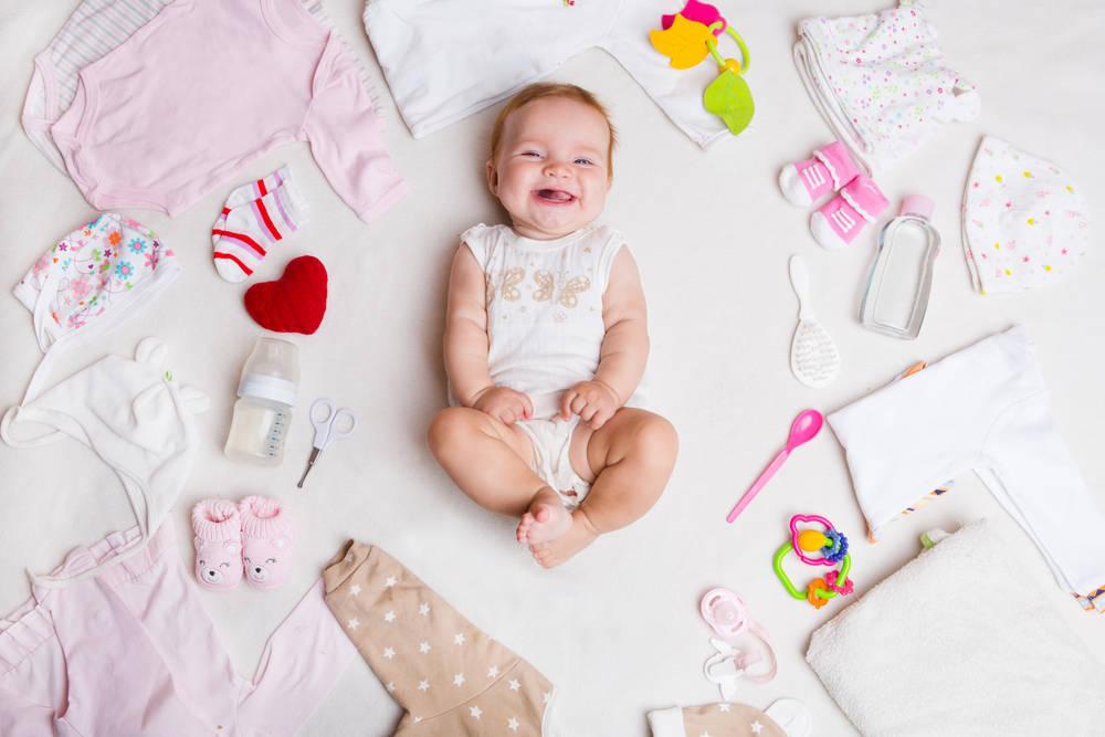 Para un bebé, mejor un regalo personalizado