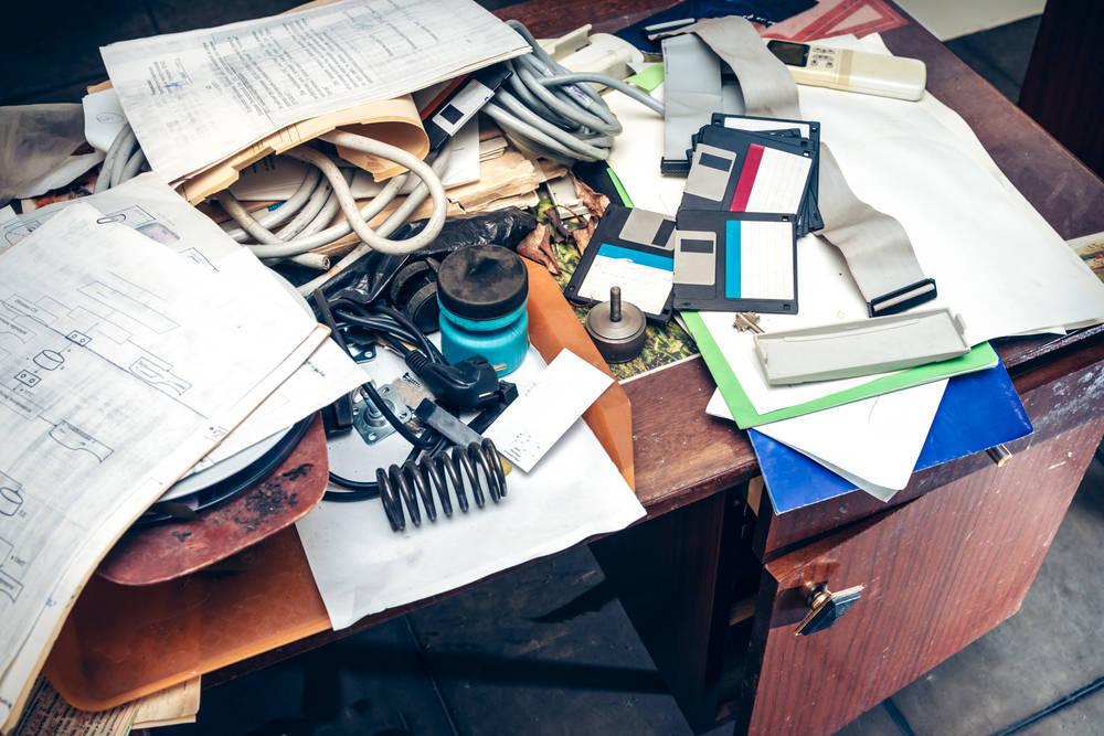 ¿Es el desorden sinónimo de creatividad?