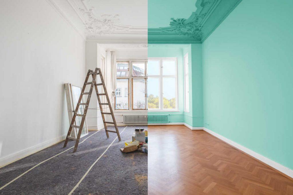 Si pintas tu casa, ojo con la pintura